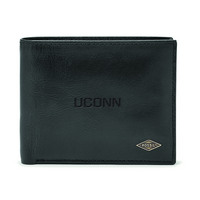 Fossil Leather Ryan RFID Passcase  Black