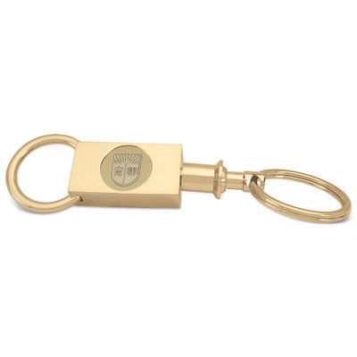 Gold Two section Key Ring