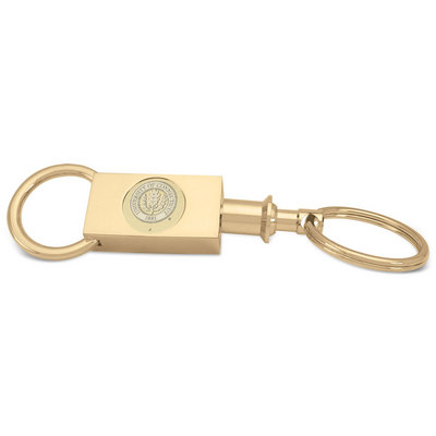 Gold Two section Key Ring (Online Only)