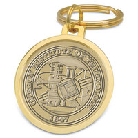 Gold Split wire Key Ring (Online Only)