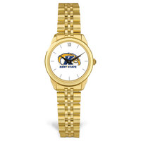 Womens Gold Rolled Link Watch