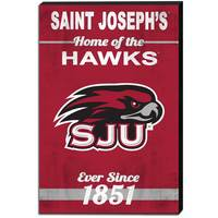 Canvas Banner Home Of Sign