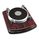 2 Silver Coasters Round (Online Only)
