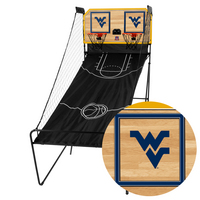 West Virginia University Mountaineers WVU Classic Court Double Shootout Basketball Game