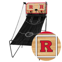 Rutgers University Scarlet Knights Classic Court Double Shootout Basketball Game