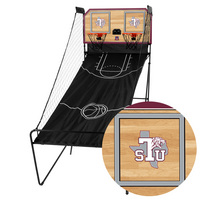 Texas Southern Tigers Classic Court Double Shootout Basketball Game