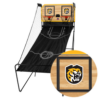 Colorado College Tigers Classic Court Double Shootout Basketball Game