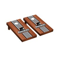 Providence College Friars Regulation Cornhole Game Set Rosewood Stained Stripe Version