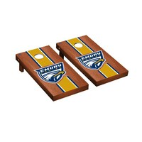 Emory Eagles Regulation Cornhole Game Set Rosewood Stained Striped Version