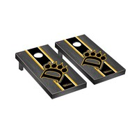 Ohio Dominican ODU Panthers Regulation Cornhole Game Set Onyx Stained Stripe Version
