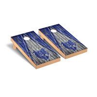 Southern Connecticut State Owls Regulation Cornhole Game Set Triangle Weathered Version
