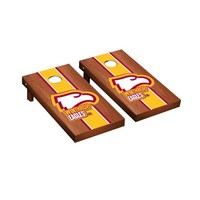 Winthrop Eagles Regulation Cornhole Game Set Rosewood Stained Stripe Version
