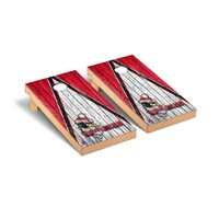 Youngstown State Penguins Regulation Cornhole Game Set Triangle Weathered Version