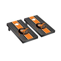 Campbell Fighting Camels Regulation Cornhole Game Set Onyx Stained Stripe Version