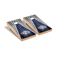 New Hampshire Wildcats Regulation Cornhole Boards Game Set Triangle Weathered Version