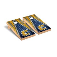 University of Tennessee At Chattanooga Mocs Regulation Cornhole Game Set Triangle Weathered Version