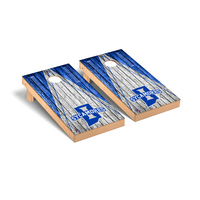 Indiana State Sycamores Regulation Cornhole Game Set Triangle Weathered Version