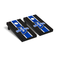 Indiana State Sycamores Regulation Cornhole Game Set Onyx Stained Stripe Version