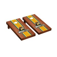 Wright State Raiders Regulation Cornhole Game Set Rosewood Stained Stripe Version