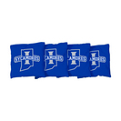 4 Indiana State Black Regulation All Weather Cornhole Bags