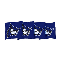 4 Westfield State Blue Regulation All Weather Cornhole Bags