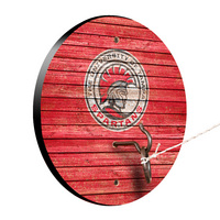 Tampa Spartans Weathered Design Hook and Ring Game