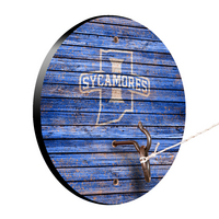 Indiana State University Sycamores Weathered Design Hook and Ring Game
