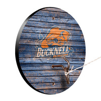 Bucknell University Bison Weathered Design Hook and Ring Game