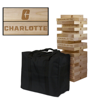 North Carolina At Charlotte 49ers Giant Wooden Tumble Tower Game