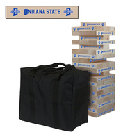Indiana State University Sycamores Giant Wooden Tumble Tower Game