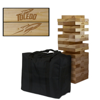 Toledo Rockets Giant Wooden Tumble Tower Game