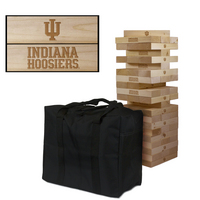 Indiana University Hoosiers Giant Wooden Tumble Tower Game
