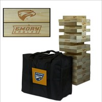 Emory University Eagles Giant Wooden Tumble Tower Game
