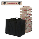 Florida Institute of Technology Panthers FIT Giant Wooden Tumble Tower Game