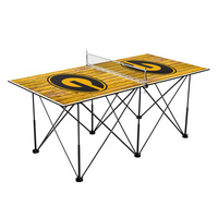 Grambling State University Tigers Pop Up Table Tennis 6ft Weathered Design