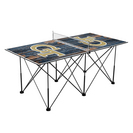 Georgia Tech Yellow Jackets Pop Up Table Tennis 6ft Weathered Design