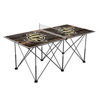 University of Central Florida Pop Up Table Tennis 6ft Weathered Design