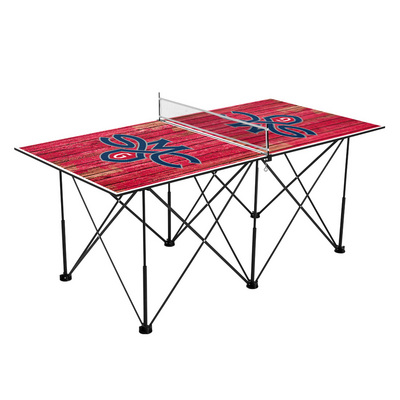 Saint Marys College California Gaels Pop Up Table Tennis 6ft Weathered Design