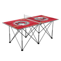 Tampa Spartans Pop Up Table Tennis 6ft Weathered Design