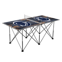 Penn State University Nittany Lions Pop Up Table Tennis 6ft Weathered Design