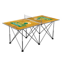 Norfolk State Spartans Pop Up Table Tennis 6ft Weathered Design