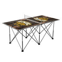 Maryland Baltimore Retrievers Pop Up Table Tennis 6ft Weathered Design