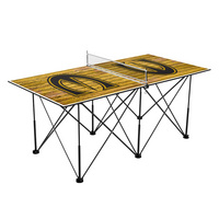 Emporia State University Hornets Pop Up Table Tennis 6ft Weathered Design