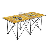 Northern Kentucky University Norse Pop Up Table Tennis 6ft Weathered Design
