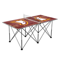 Winthrop University Eagles Pop Up Table Tennis 6ft Weathered Design