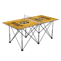 Colorado College Tigers Pop Up Table Tennis 6ft Weathered Design