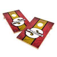 Vintage Cal State Stanislaus Warriors VT  Solid Wood 2x3 Cornhole