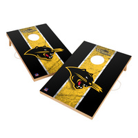 Vintage Ohio Dominican Panthers VT  Solid Wood 2x3 Cornhole