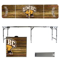 Maryland Baltimore Retrievers 8 Foot Portable Folding Tailgate Table Weathered Version