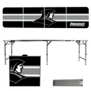 Providence College Friars 8 Foot Portable Folding Tailgate Table Stripe Version